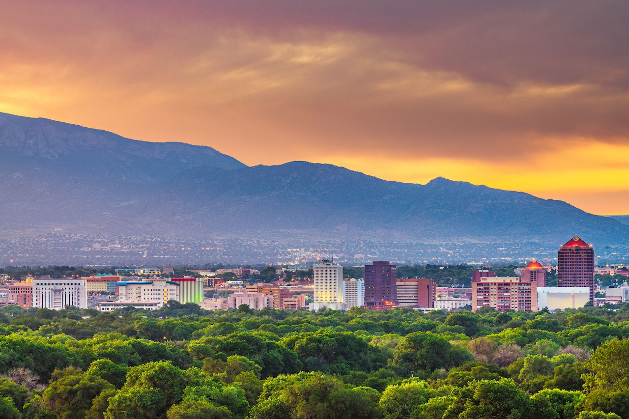 Albuquerque is one of the best places to visit in fall in the US