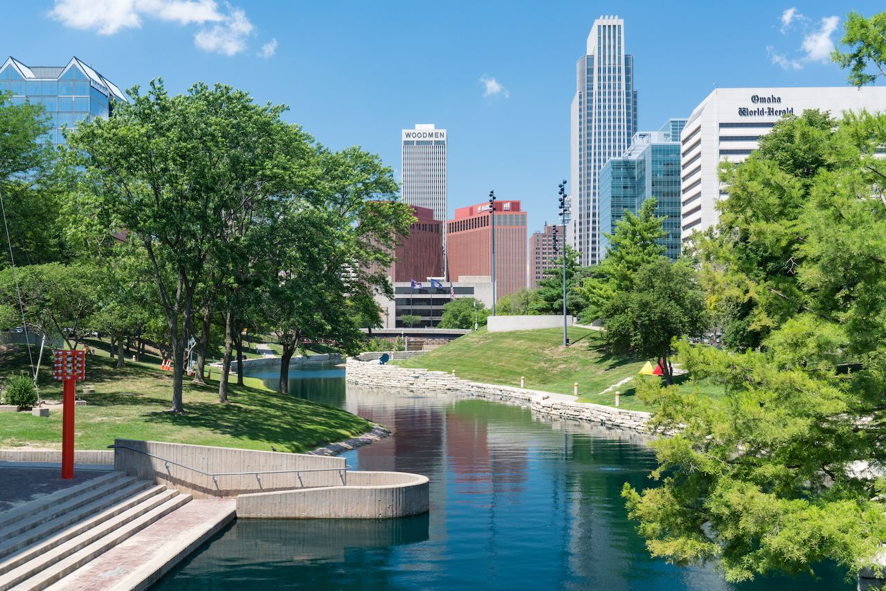 Omaha, Nebraska is one of the best fall vacations for outdoors activities