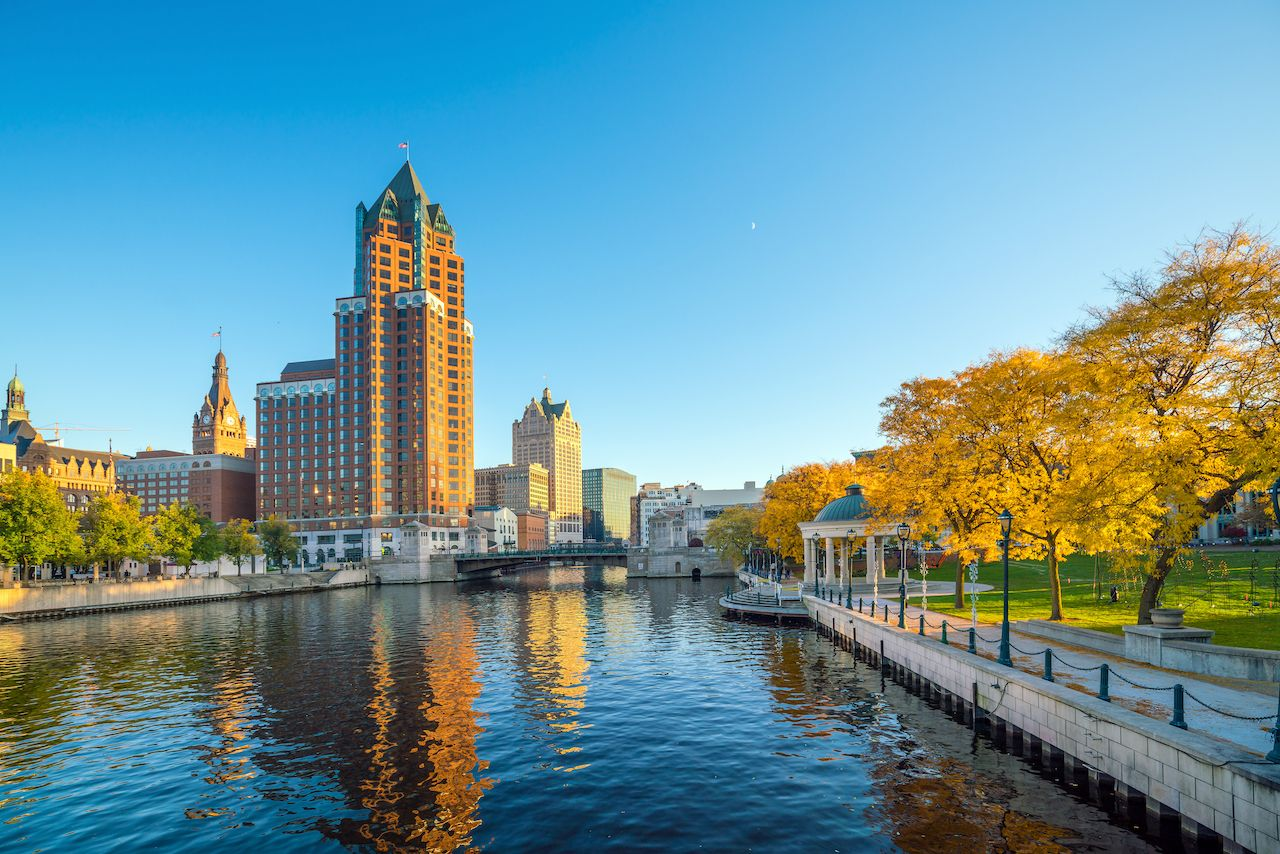 Milwaukee, Wisconsin is one of the best fall vacation destinations in the US for outdoor lovers