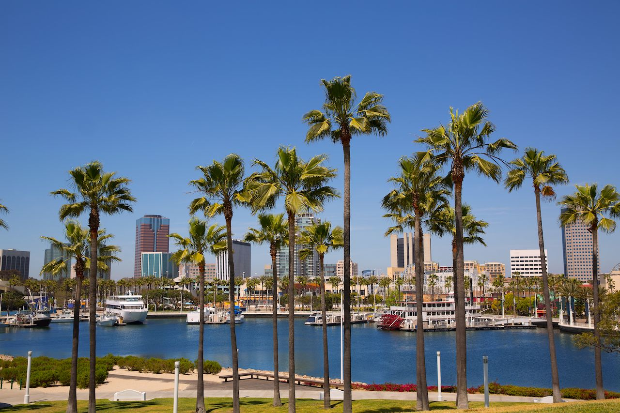 Long Beach, California is one of the top fall vacations for outdoors lovers