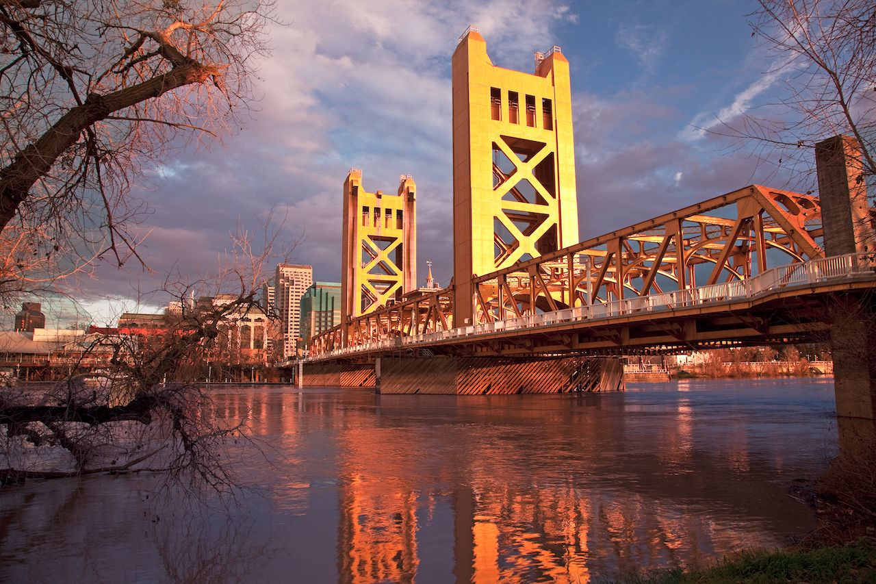 Sacramento's scenic bike paths make it one of the best fall vacation destinations in the US