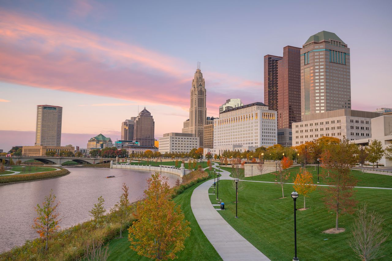 Columbus, Ohio is one of the best fall vacation destinations in the US for outdoor activities