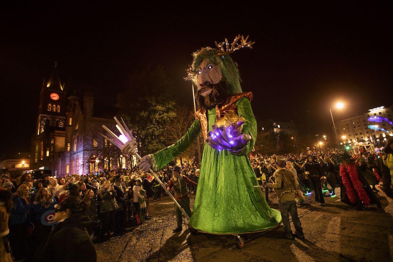 Halloween traditions in Derry, Northern Ireland