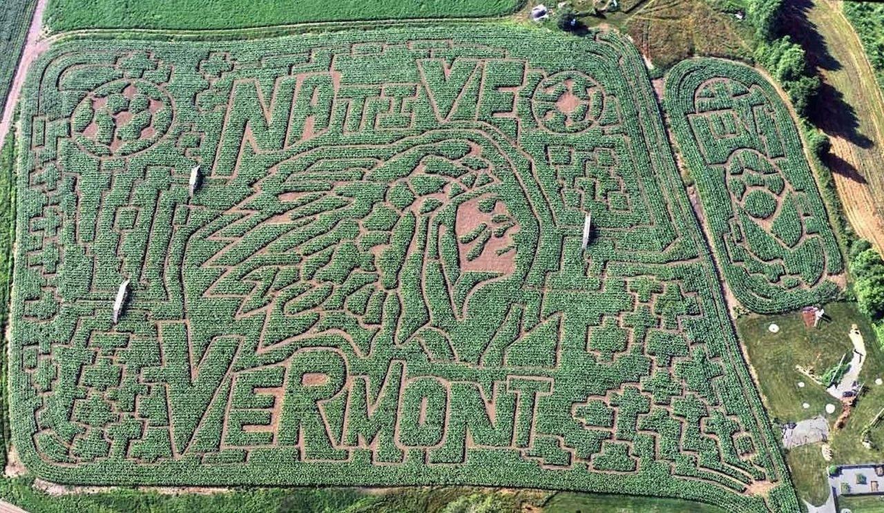 Great Vermont Corn Maze in Danville, Vermont