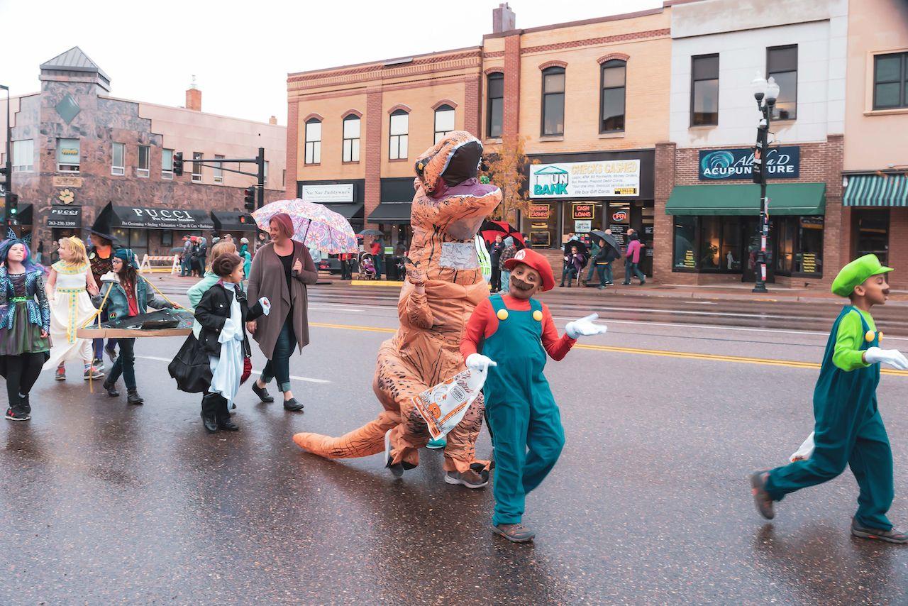Parade in Anoka, the Halloween Capital of the World