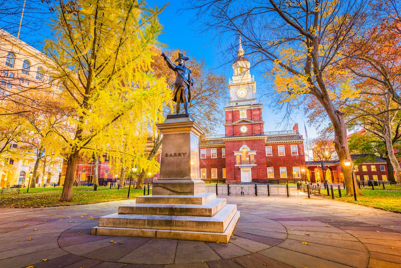 Independence Hall in Philly