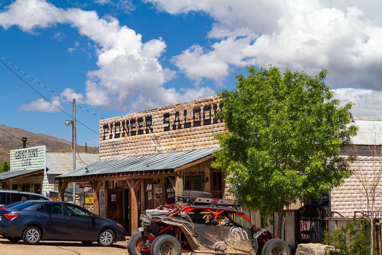 The Pioneer Saloon on a Goodsprings Ghost Hunt in Goodsprings, NV
