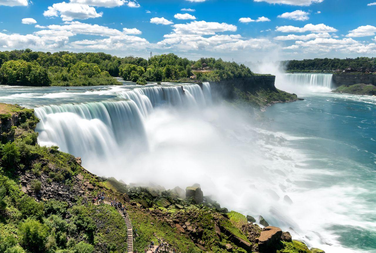 Niagara falls waterfall