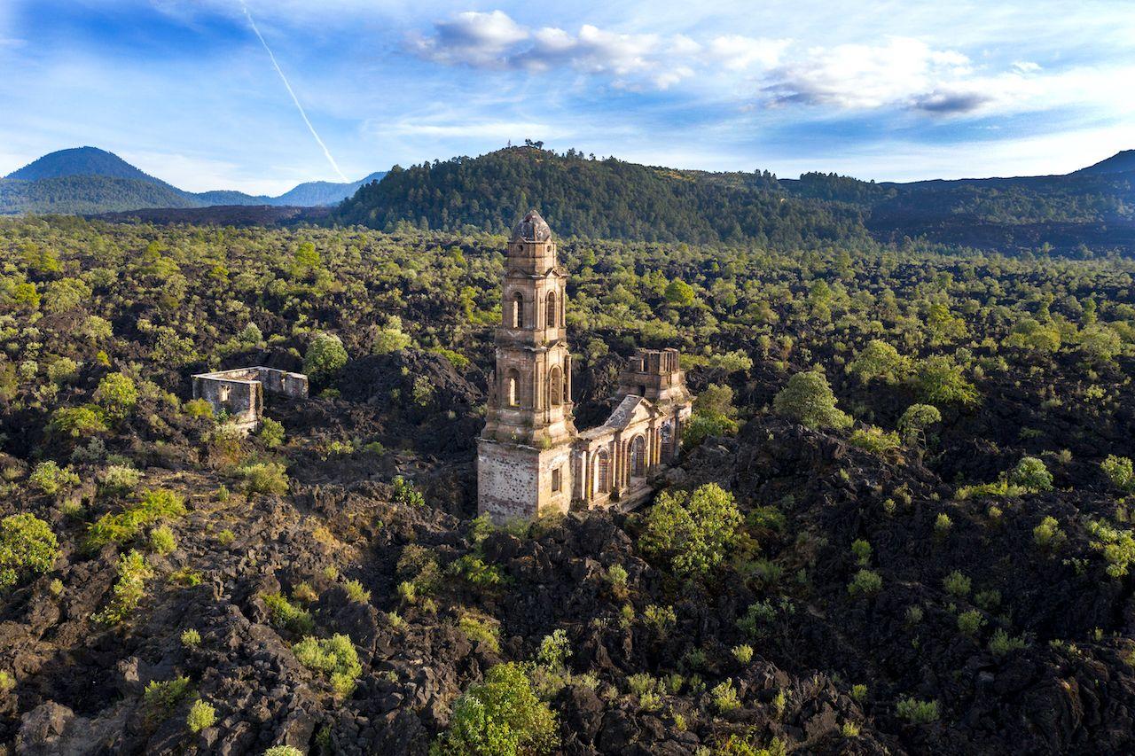 San Juan Nuevo Parangaricutiro, Michoacan, Mexico