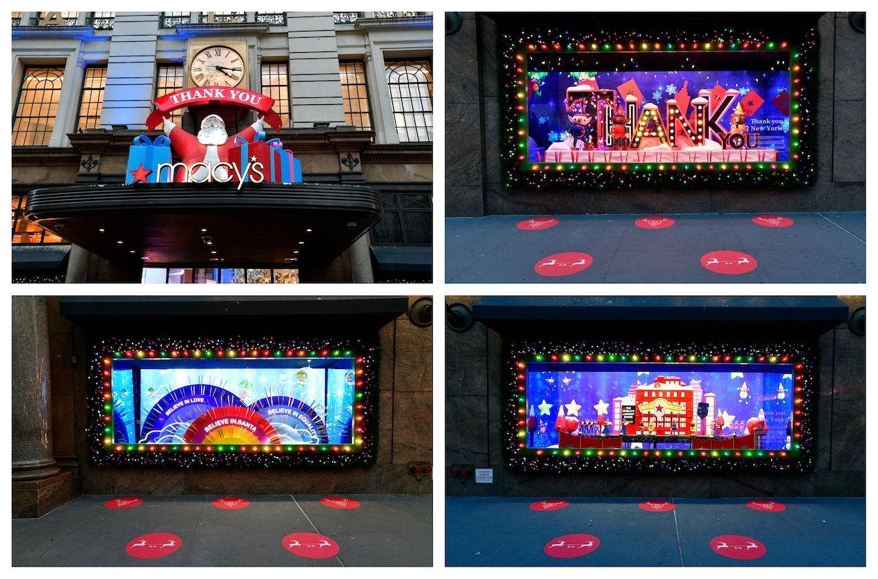 Macy's Herald Square New York City Christmas window display