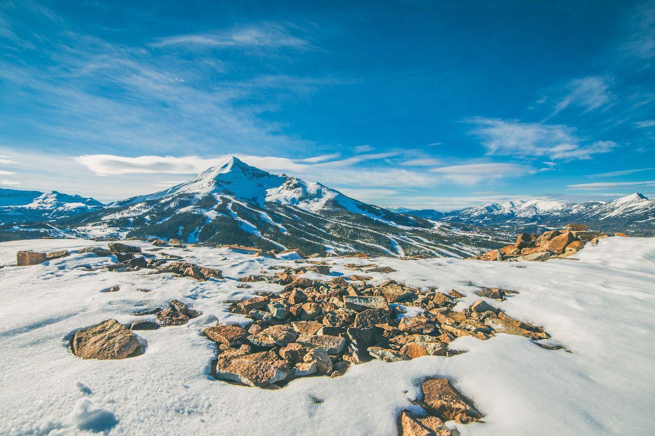 Skiing Big Sky Montanta
