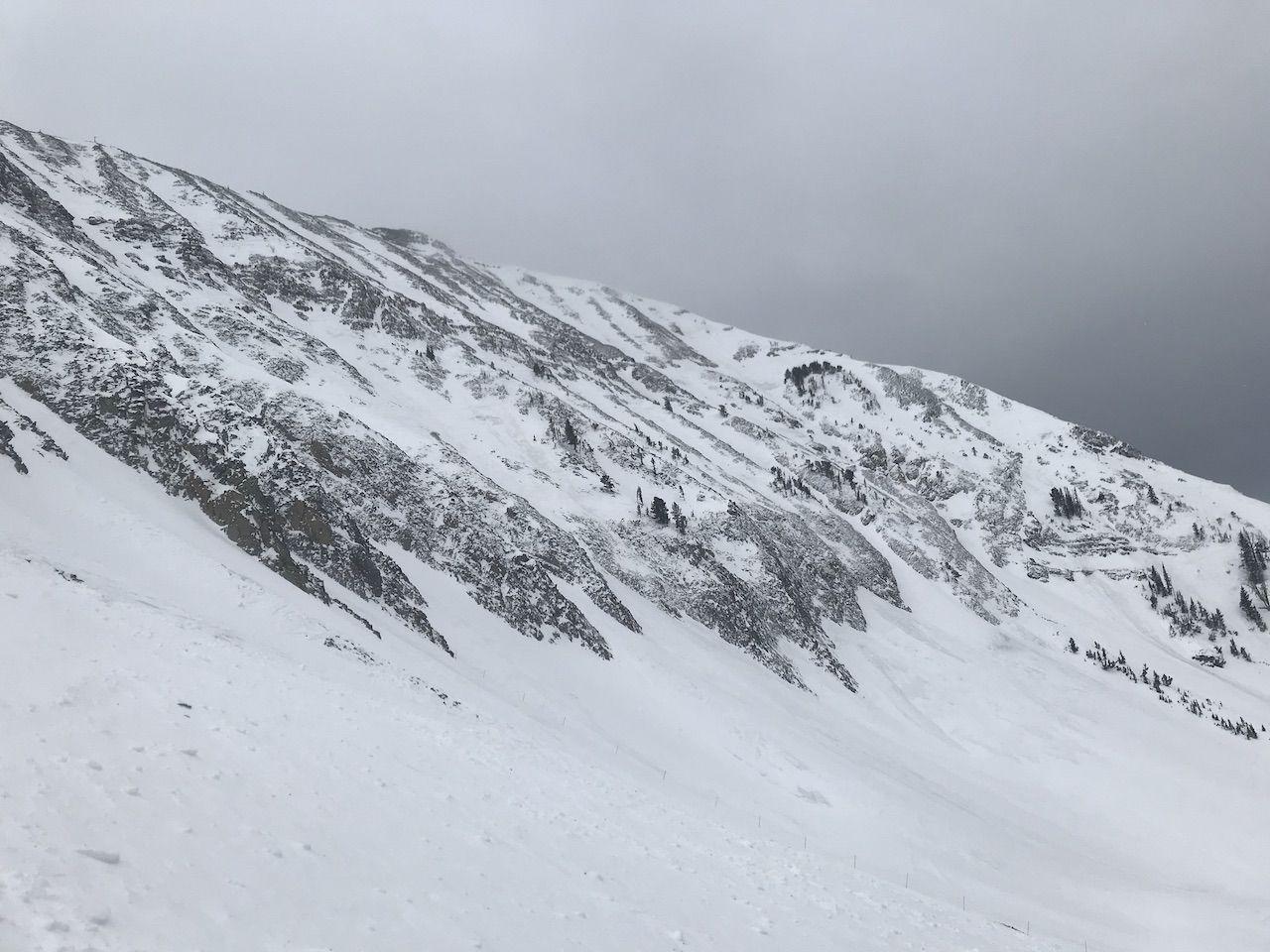 Ski run at Big Sky Resort in Montana