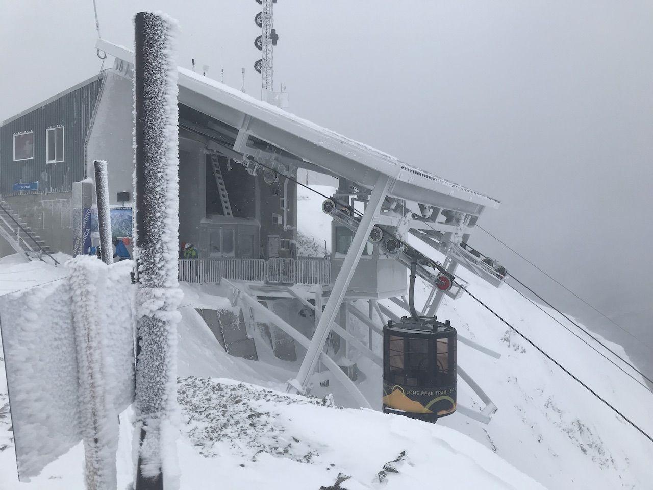 Ski lift at Big Sky Ski Resort