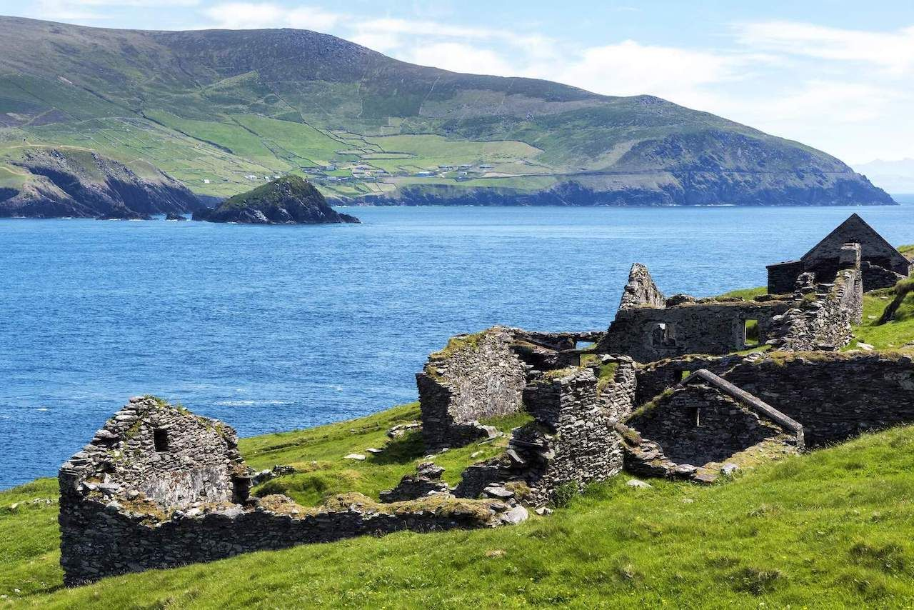 Great Blasket ruined houses