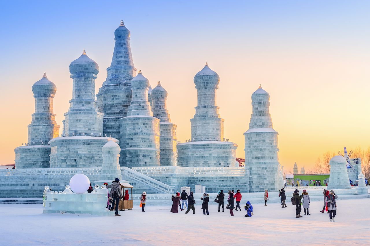 Harbin China Ice and Snow World