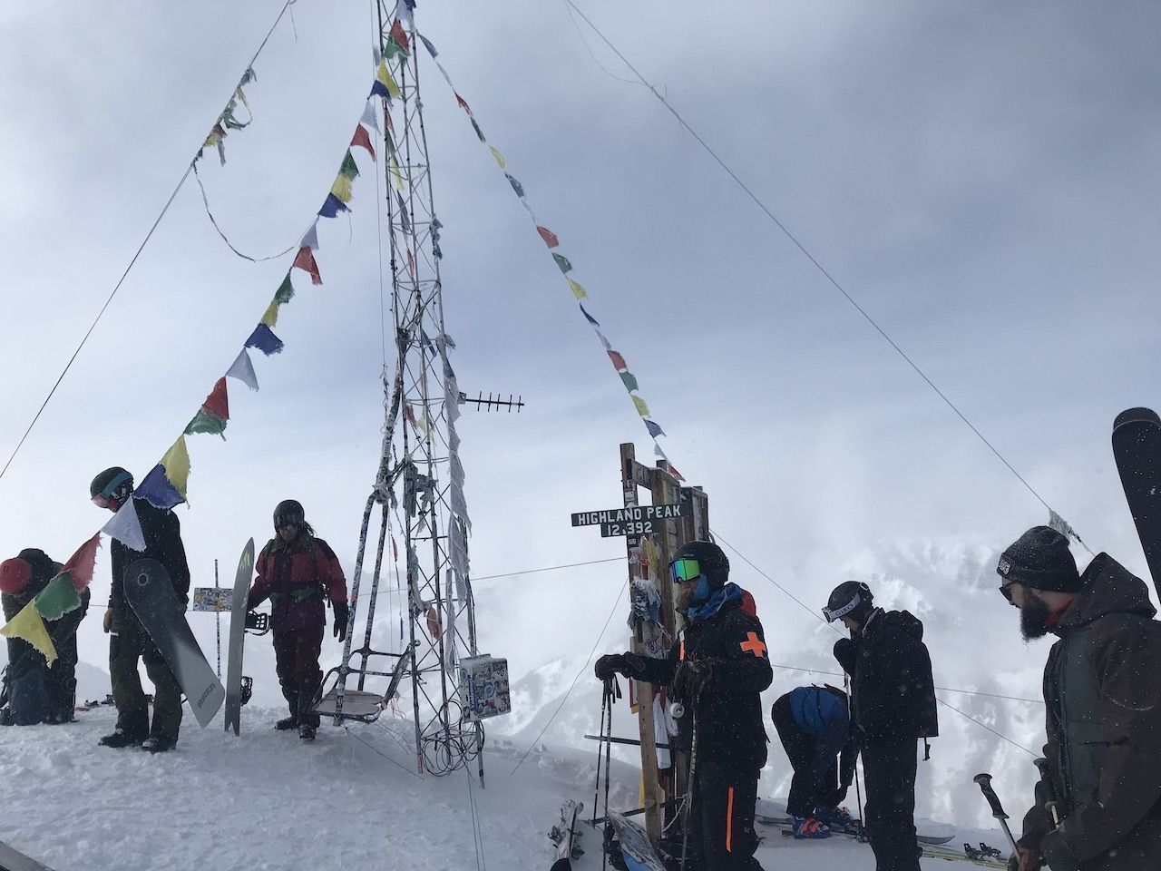 Highland peak summit in Aspen, Colorado