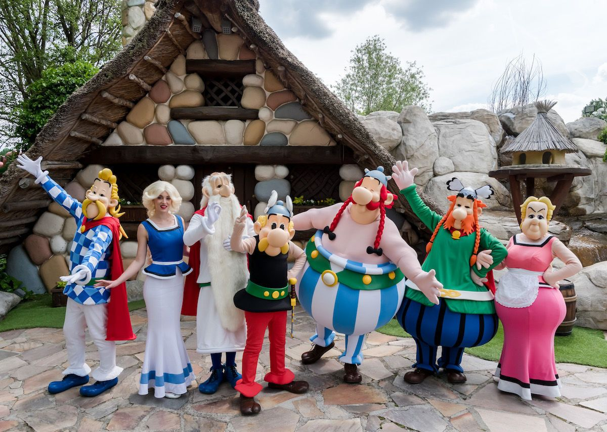 The best Parc Astérix rides and attractions in France
