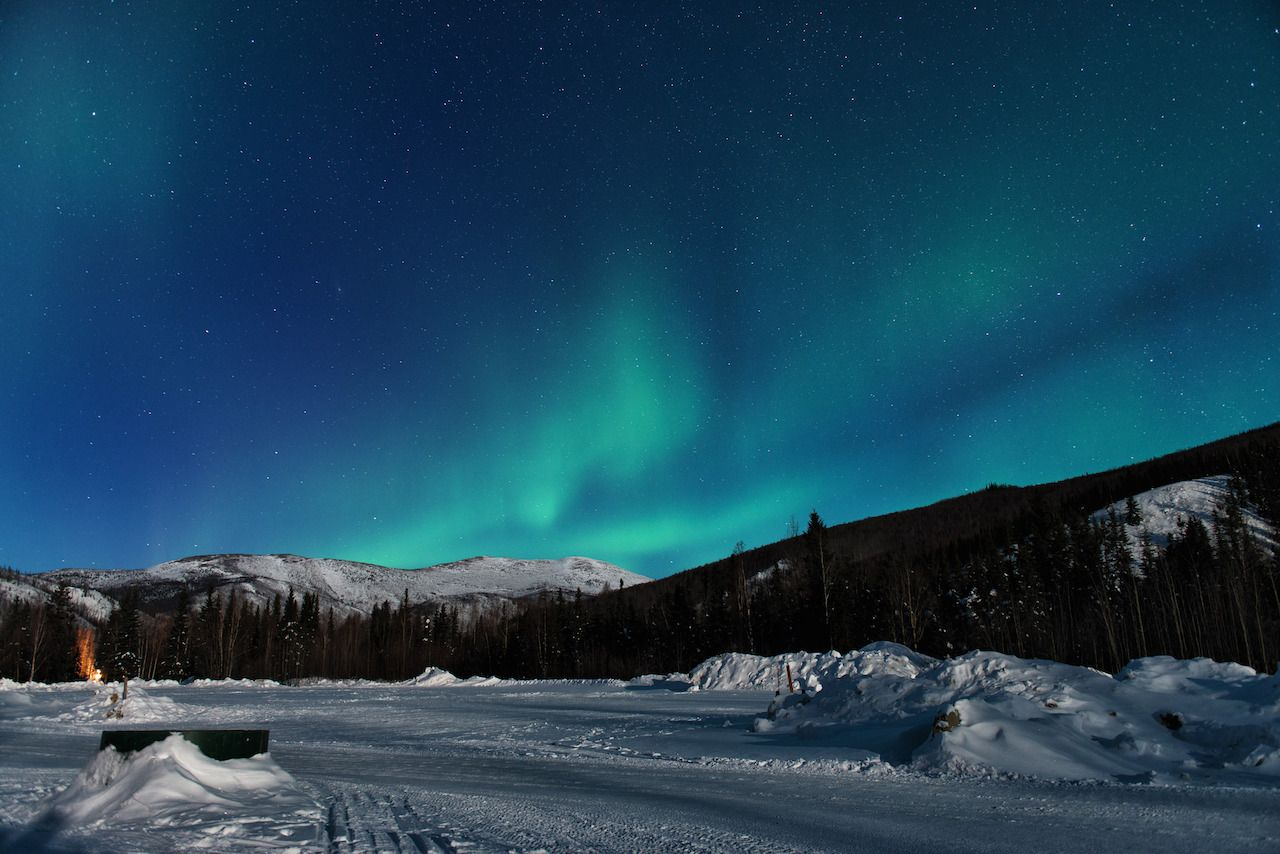 Northern lights, fun facts about alaska