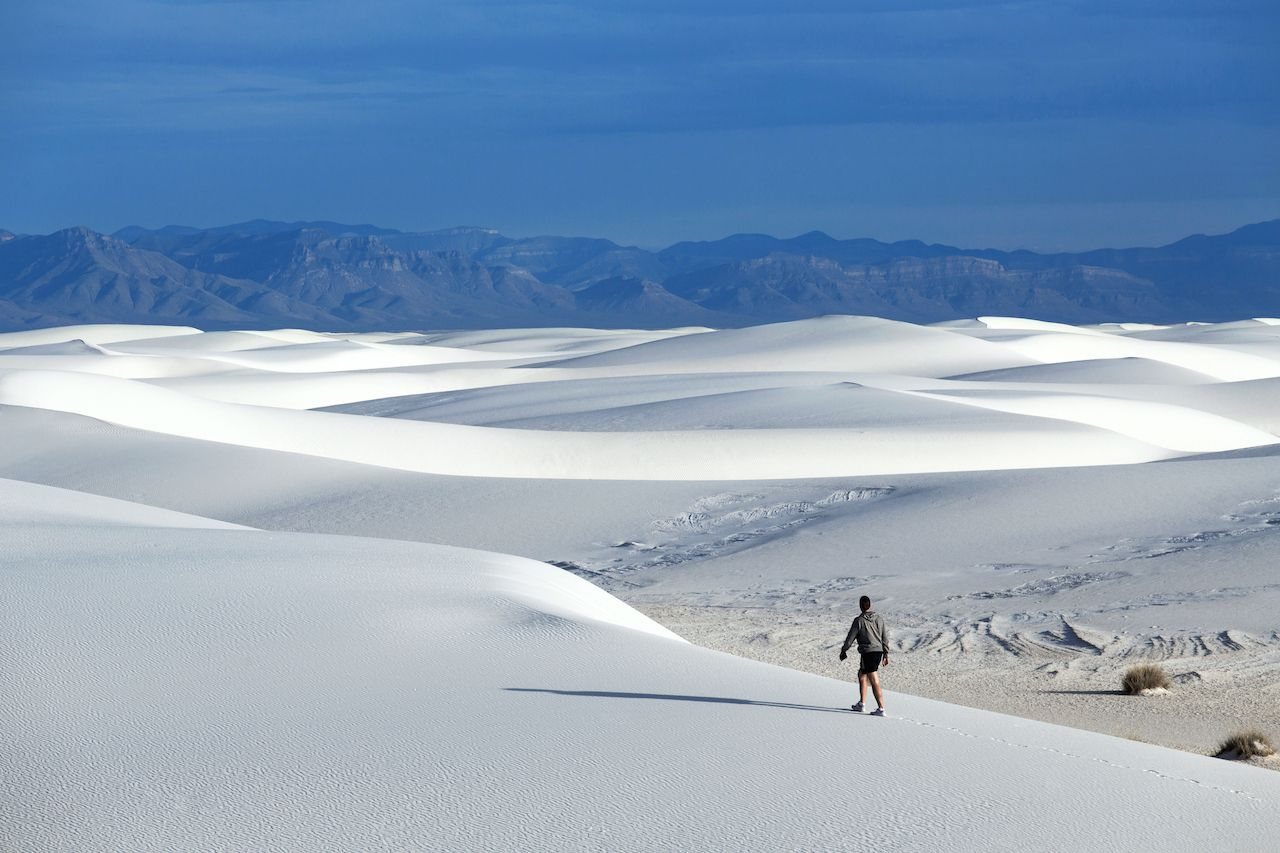 White Sands National Monument, New Mexico road trips