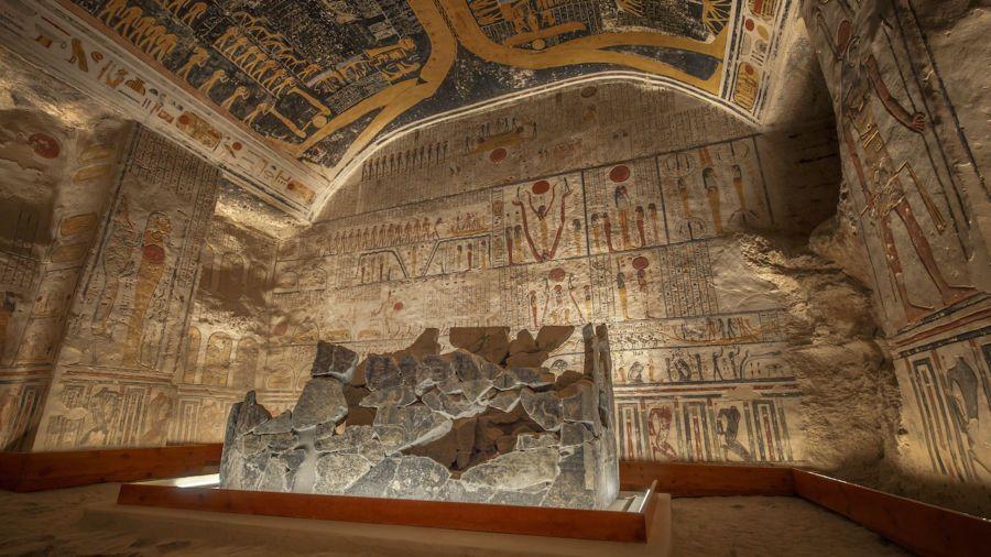 Interactive Walkthrough Tour Of Ramses Vi S Tomb