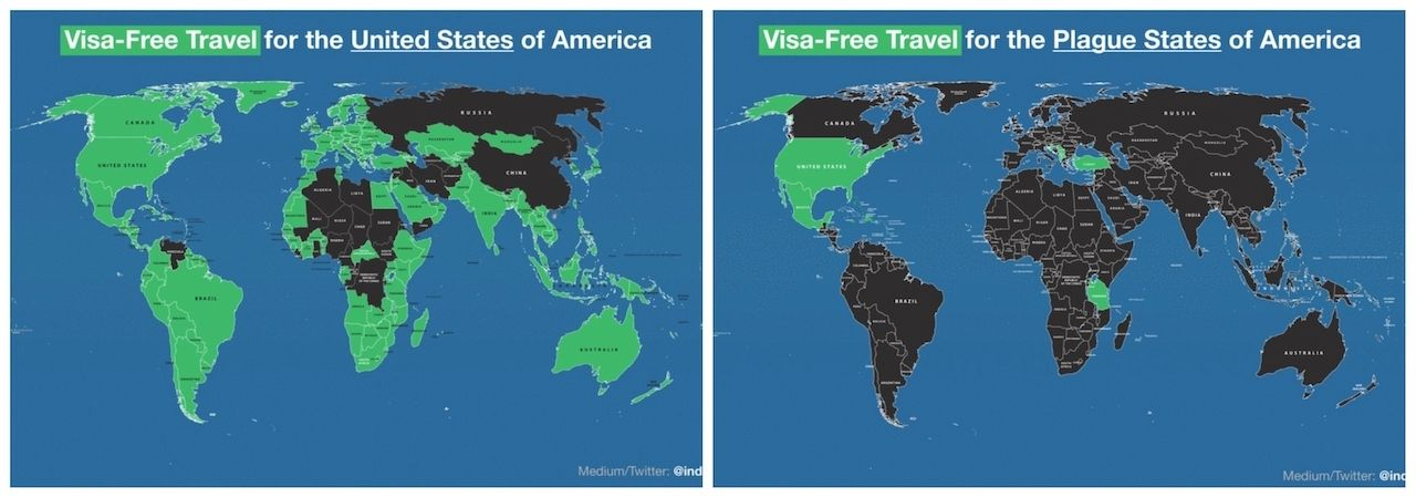 where can americans travel right now