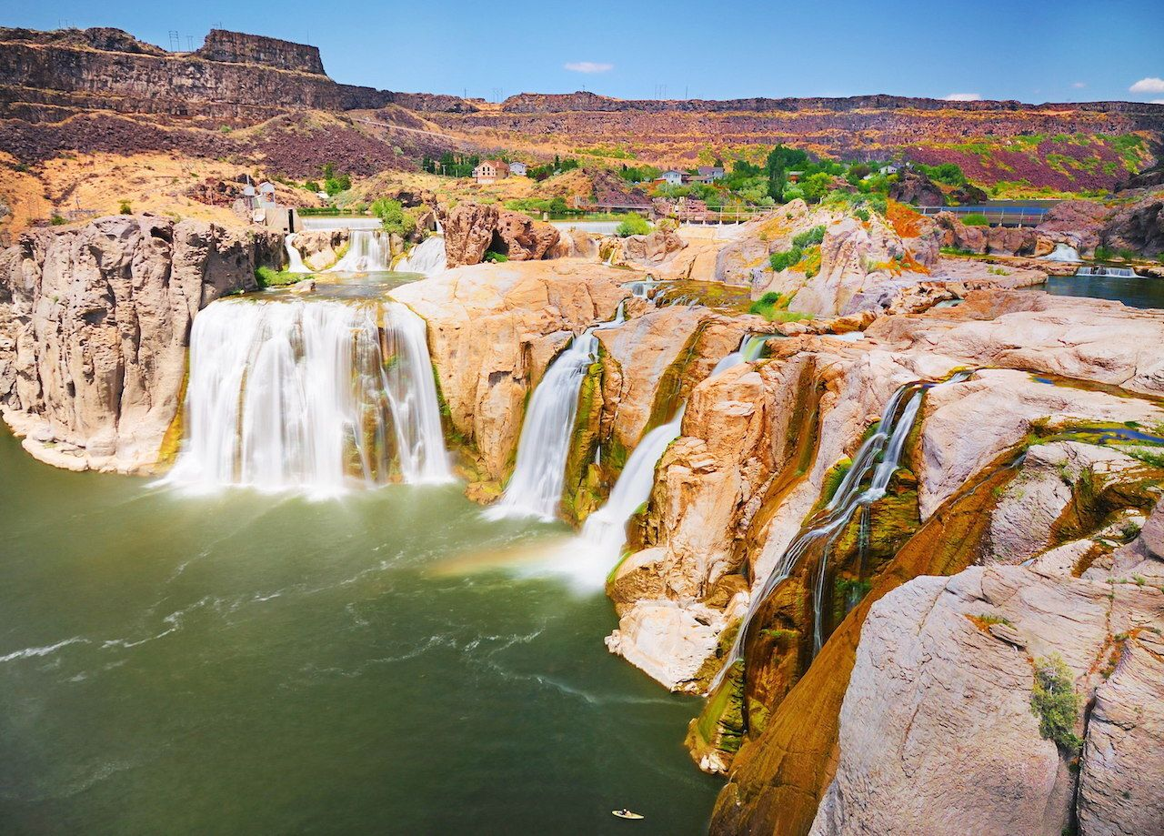 Idaho's Shoshone Falls is one of the best waterfalls in the US