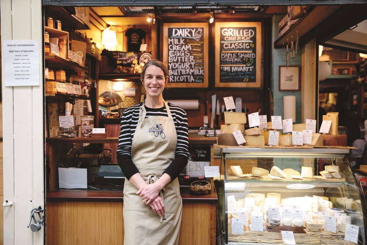 """Anna Saxelby, author of """"The New Rules of Cheese,"""" explains how to make a cheese platter"""