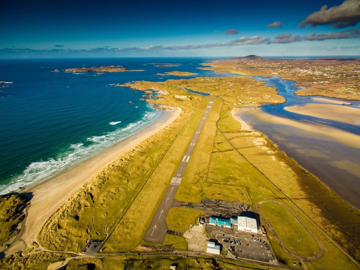 Poll reveals the most scenic airports in the world