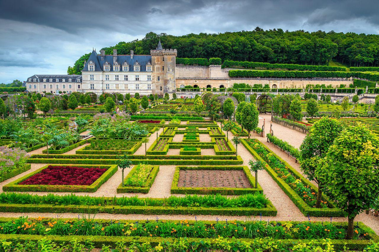 Loire Valley Villandry garden