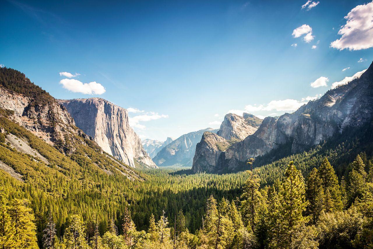 Yosemite, natural wonders of the US