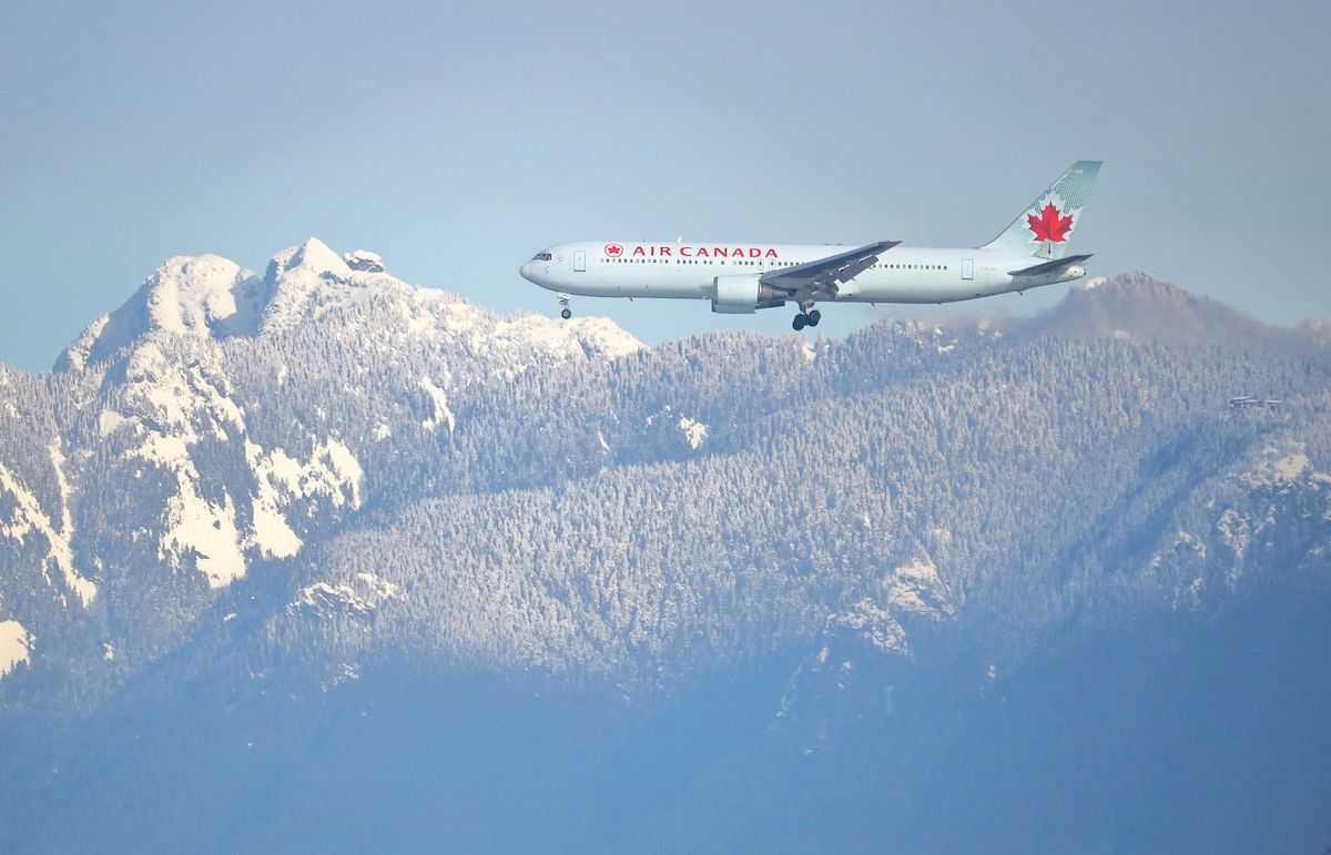 Air Canada is selling passes for unlimited domestic flights
