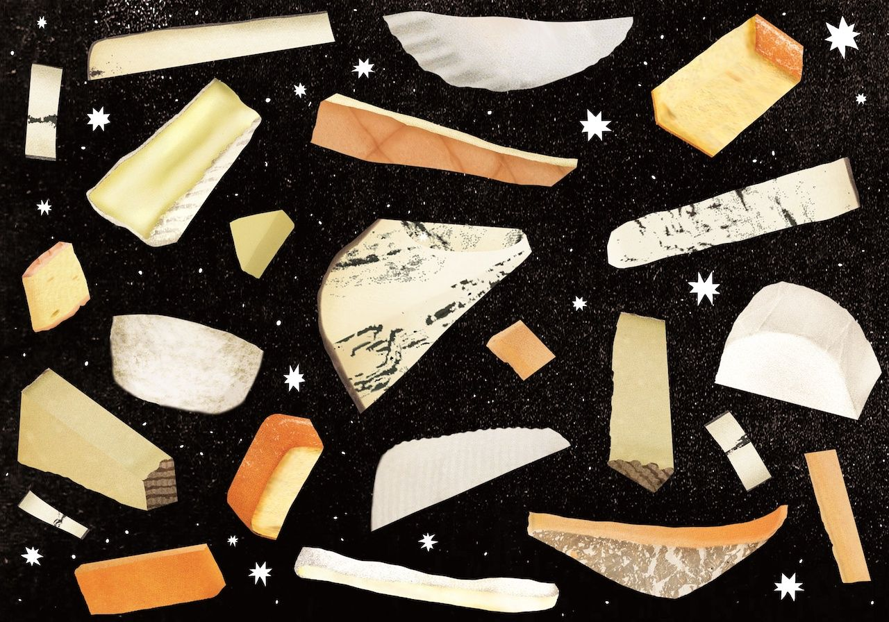 """Cheese illustration from """"The New Rules of Cheese"""""""