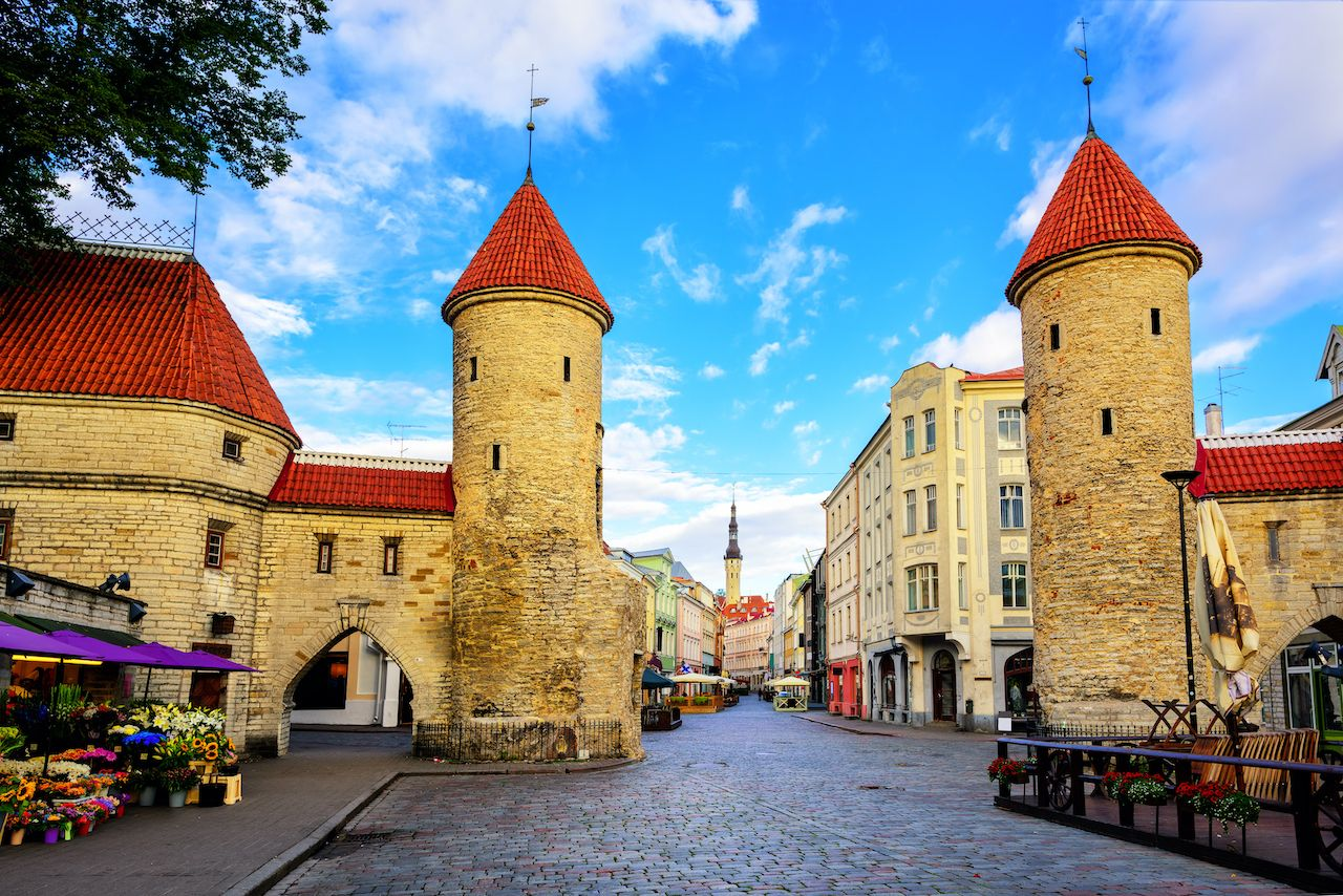 Historic Old Town, Estonia