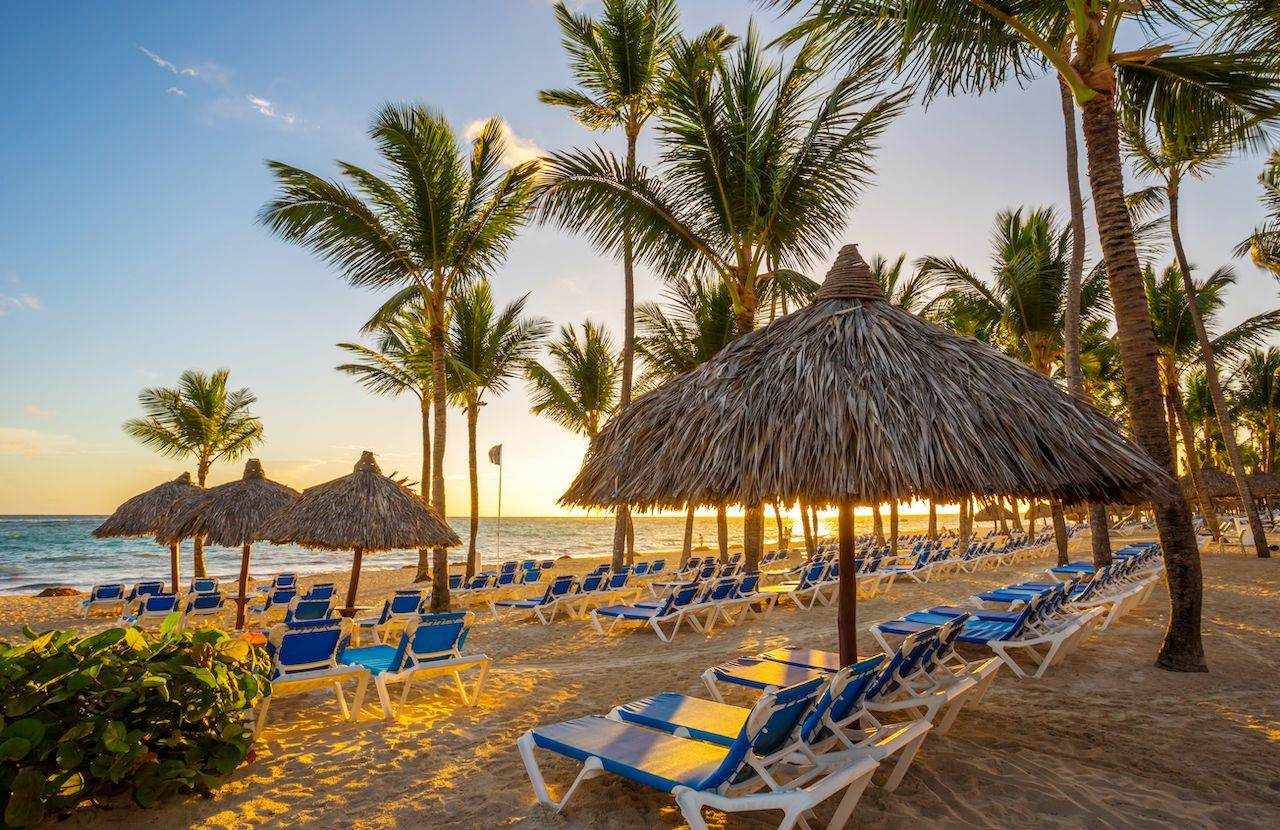 Beach resort, Punta Cana, Dominican Republic