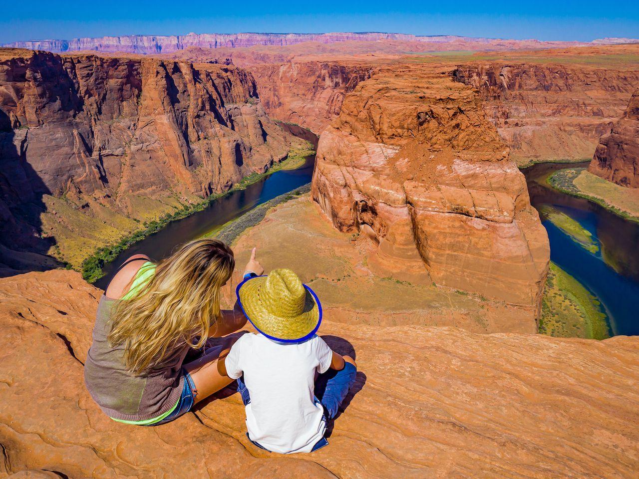 Horseshoe Bend, Arizona, and the Colorado River