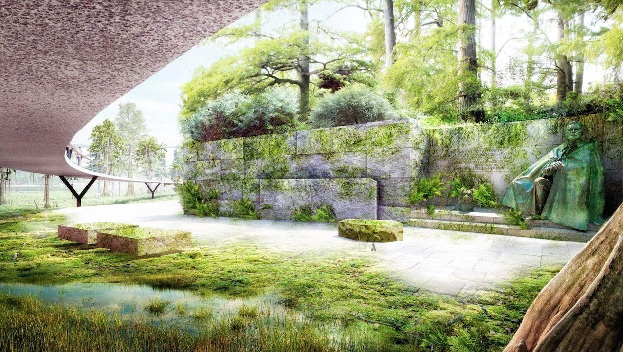National Mall's Tidal Basin landscape proposals James Corner Field Operation