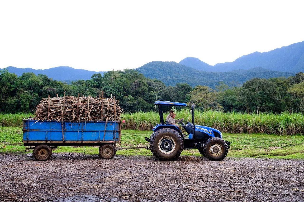 Novo Fogo tractor