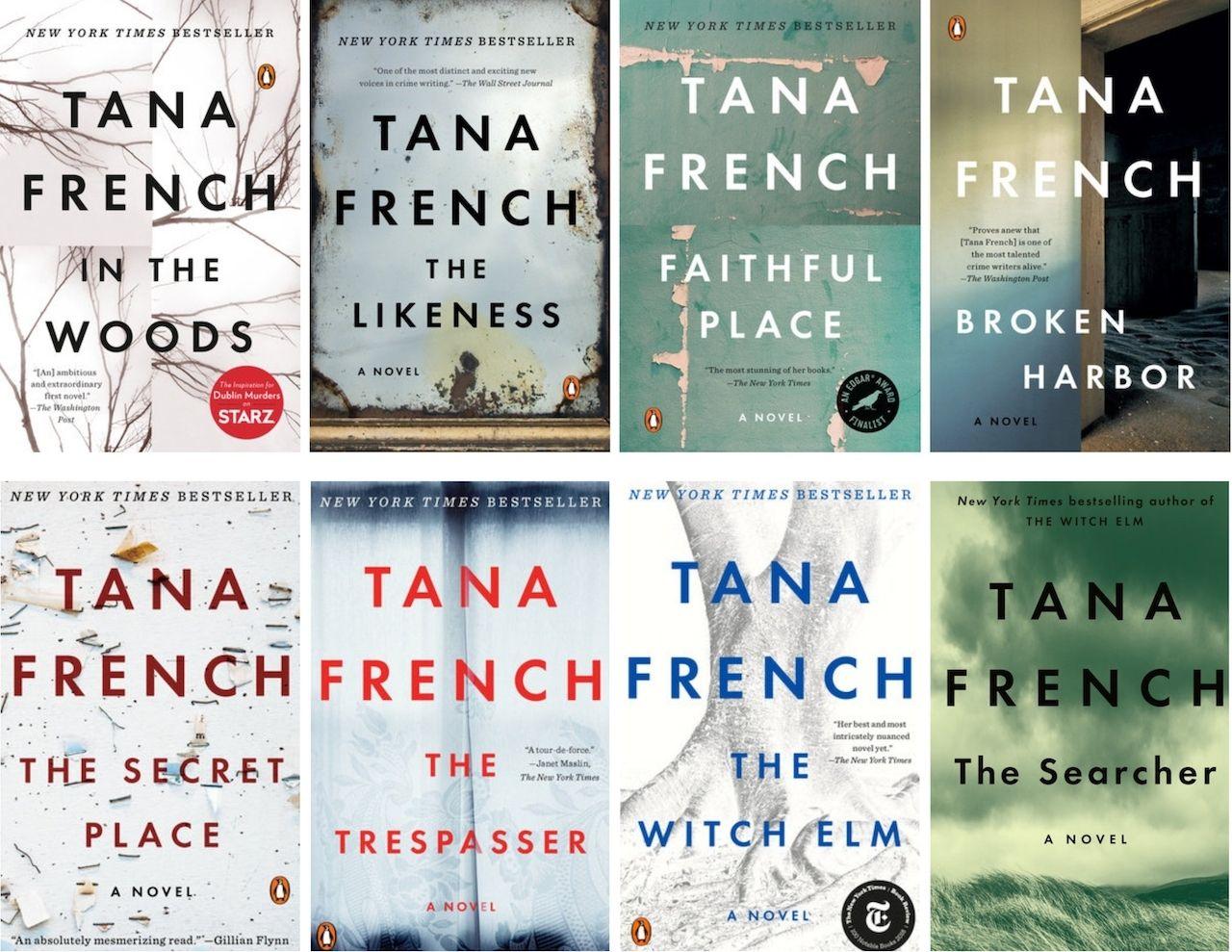 Tana French novels