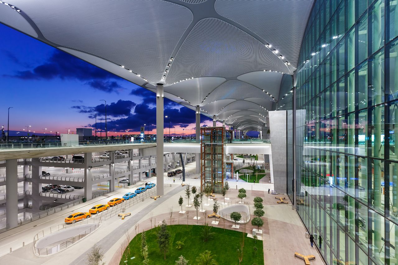Terminal of Istanbul New Airport