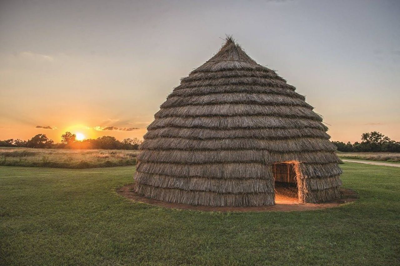 Indigenous grass house