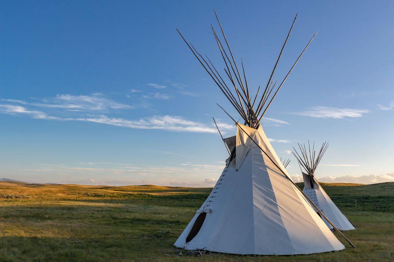 Tipi in Montana