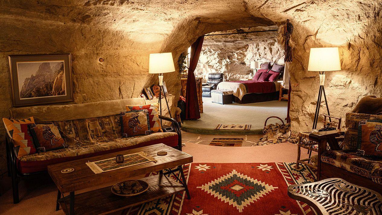 Underground accommodation for election week