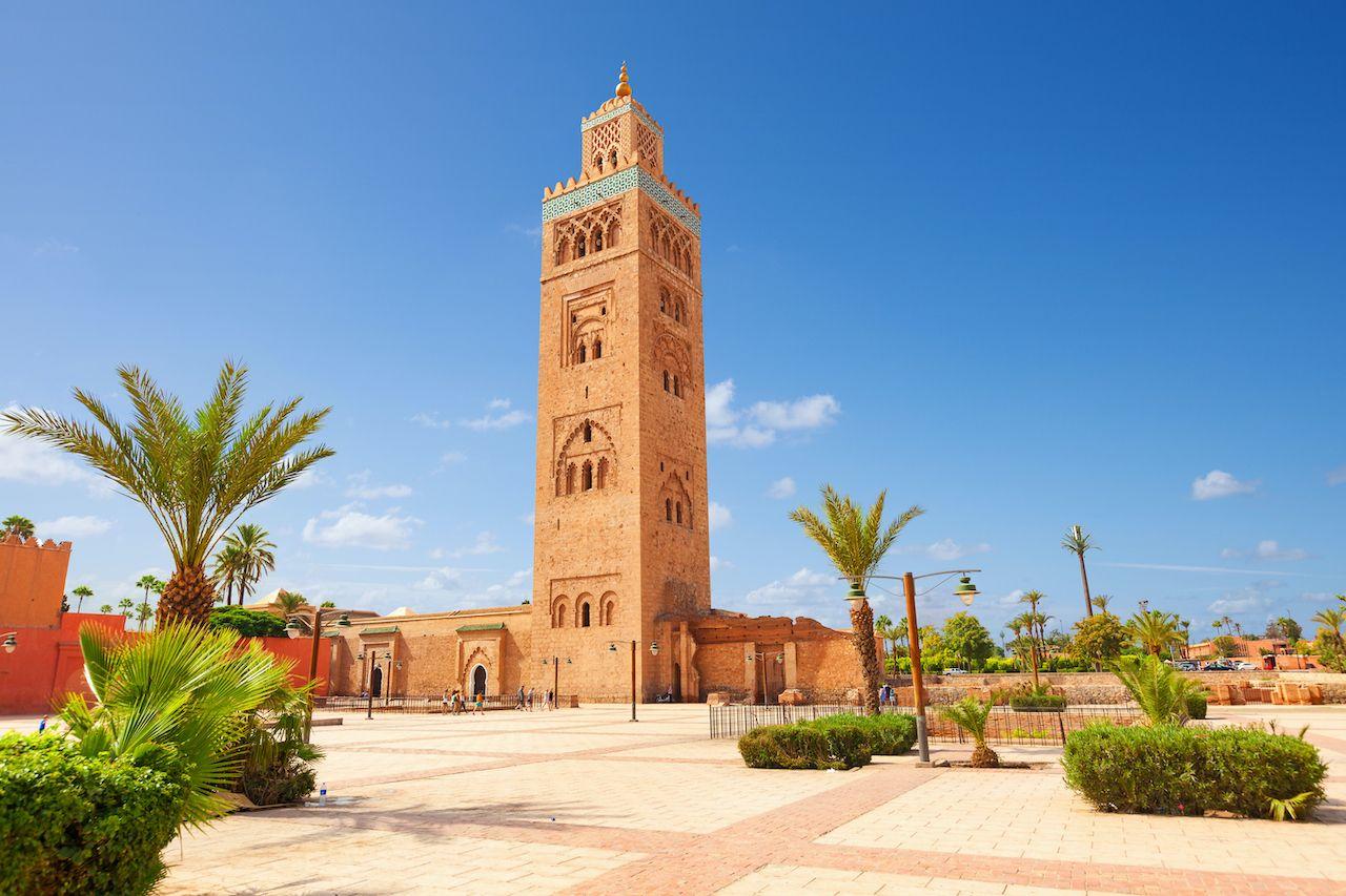 koutubia mosque marakech