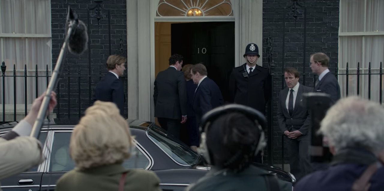 10 Downing Street in The Crown Season 4