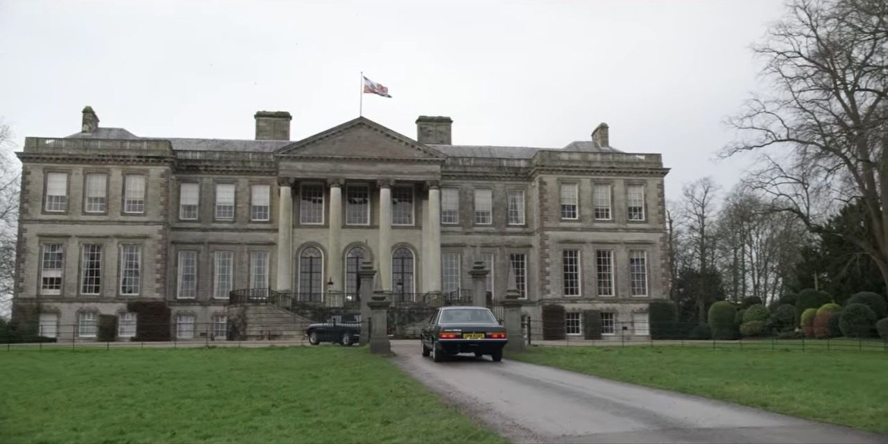 Althorp House in The Crown Season four