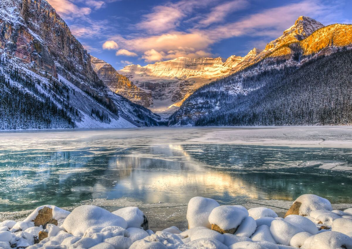 Banff is most beautiful in winter, and you don't need to ski to love it