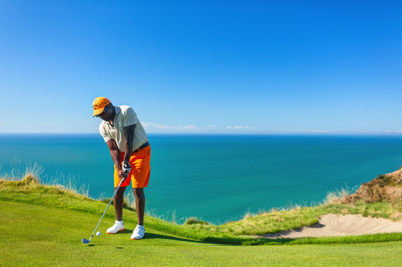 Cape Kidnappers golf court, New Zealand