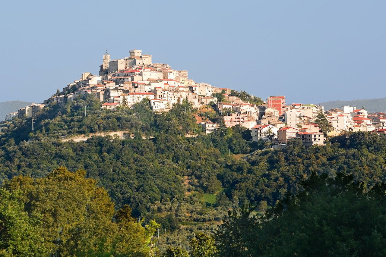 Casoli has been recognized as one of Italy's most beautiful towns