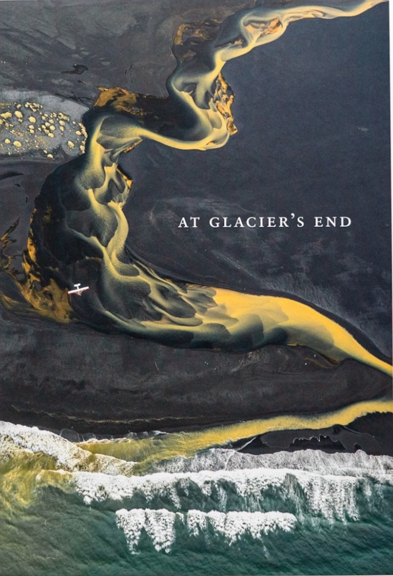 Chris Burkard At Glacier's end book cover