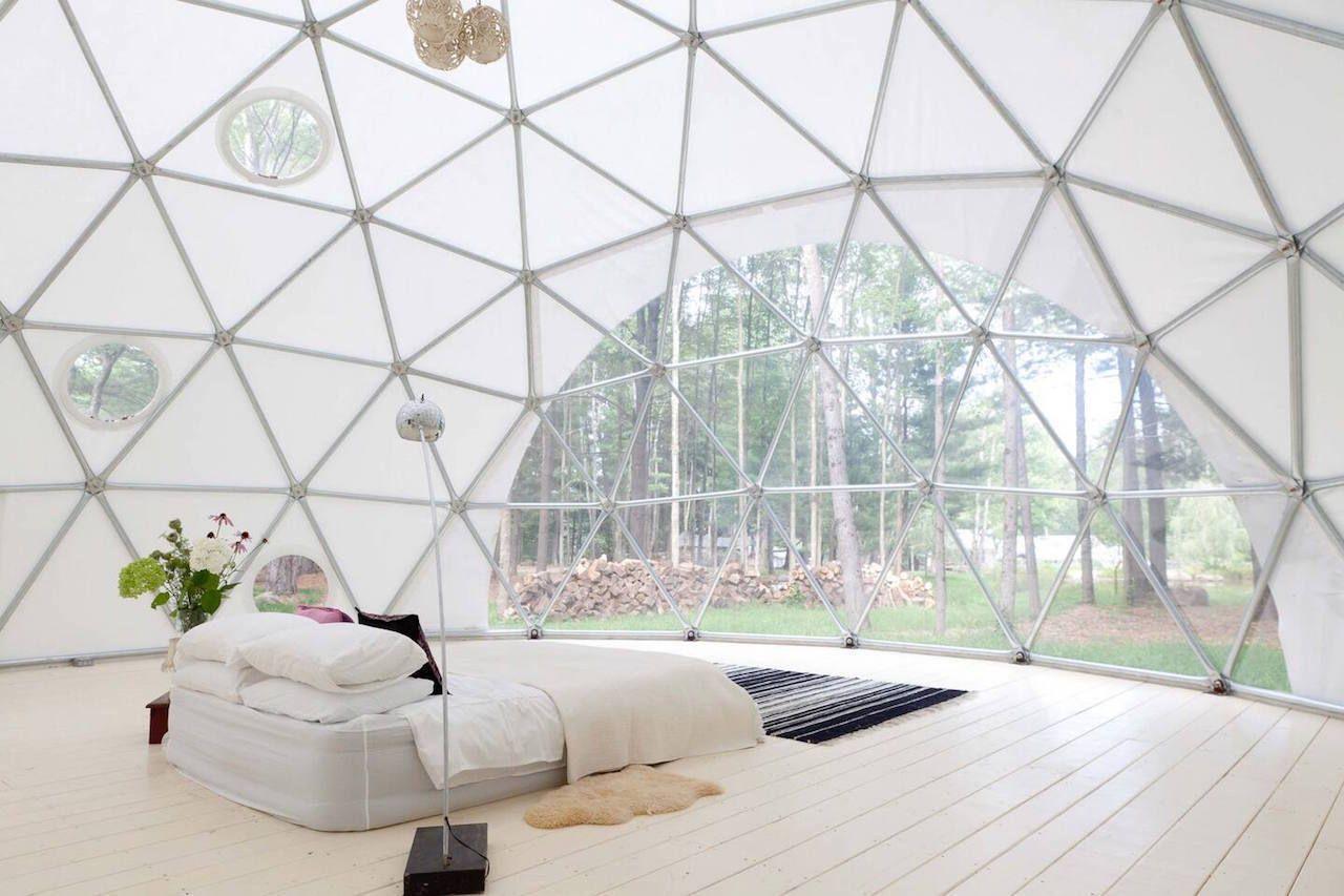 Glamping dome, Woodridge